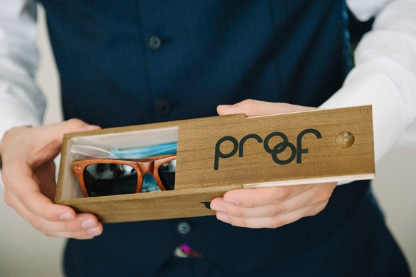 Gifting Your Groomsmen With Cool Sunglasses in a Special Wood Box is Sure to Be Appreciated!