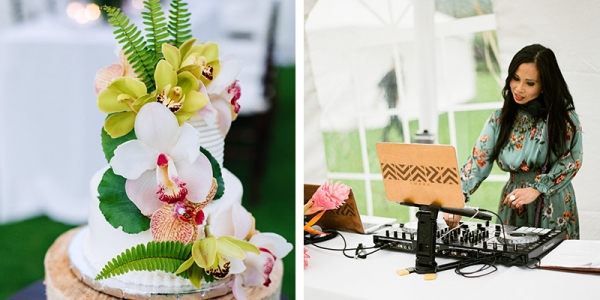 Tropical Vegan Cake and an Engaging DJ For Your Wedding Day