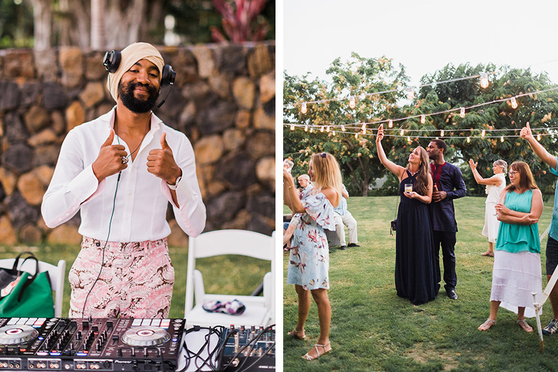 What's A Party Without a DJ?    Gather Your Peeps, Crank Up the Energy and Have Fun Like Lynsey and Matt Did At Their Backyard Party!